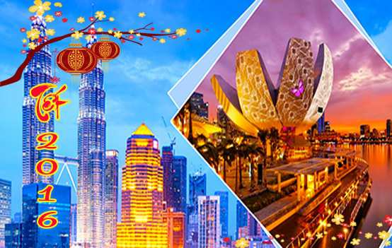 Du lịch Singapore Malaysia 6 ngày giá tốt tết âm lịch 2016 – bay Vietnam Airline