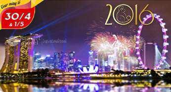 Du lịch Singapore – Malaysia giá tốt dịp lễ 30/4 bay VN từ TP.HCM