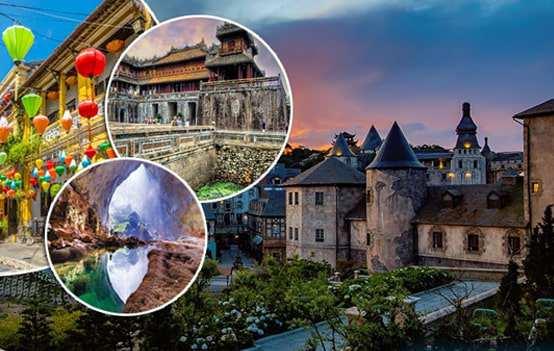 Tour du lịch Đà Nẵng – Bà Nà – Hội An – Huế 4 ngày 3 đêm (chương trình mới )