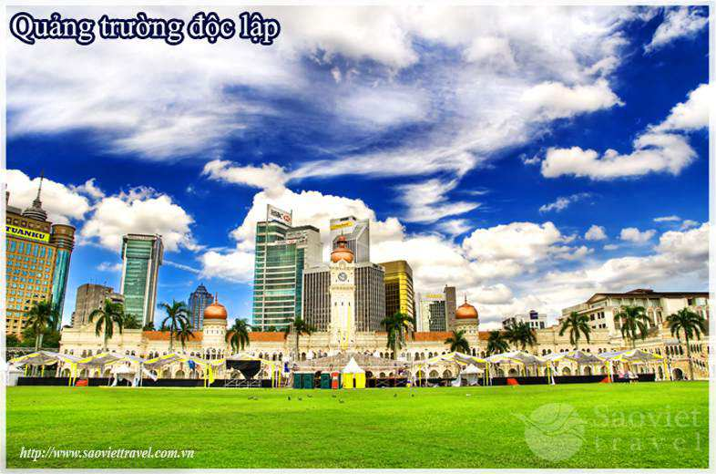 Du lịch Malaysia - Quảng Trưởng Độc Lập