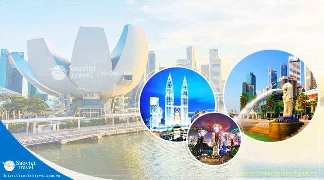 Tour 2 nước Singapore – Malaysia 6 ngày 5 đêm giá tốt từ Hà Nội