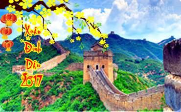 Du lịch Trung Quốc: 5 ngày giá tốt tết nguyên đán 2017