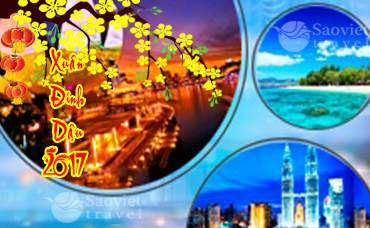 Du lịch Singapore – Malaysia – Indonesia  – Giá rẻ từ Sài Gòn tết âm lịch 2017