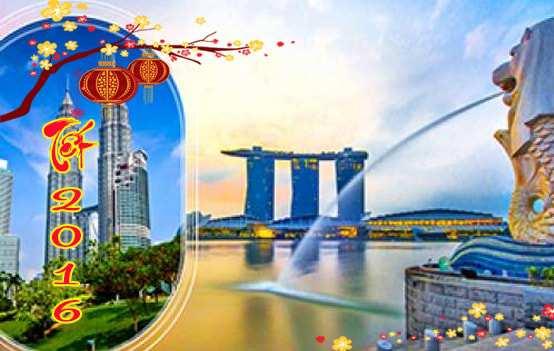Du lịch Singapore – Malaysia tặng 2 đêm khách sạn 5*dịp tết Định Dậu 2017