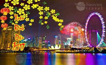 Du lịch Singapore 4 ngày giá tốt tết âm lịch 2017 từ Tp.HCM