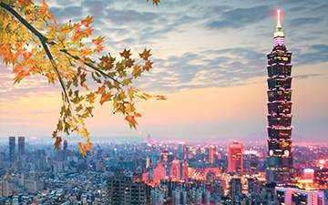 Du lịch Đài Loan Đài Bắc – Đài Trung – Cao Hùng – A Lý Sơn