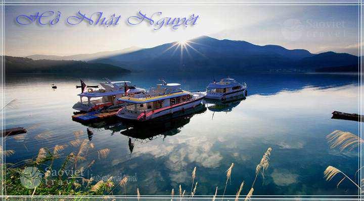 Du lịch Đài Loan - Hồ Nhật Nguyệt