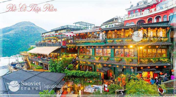 Du lịch Đài Loan - Phố Cổ Thập Phần