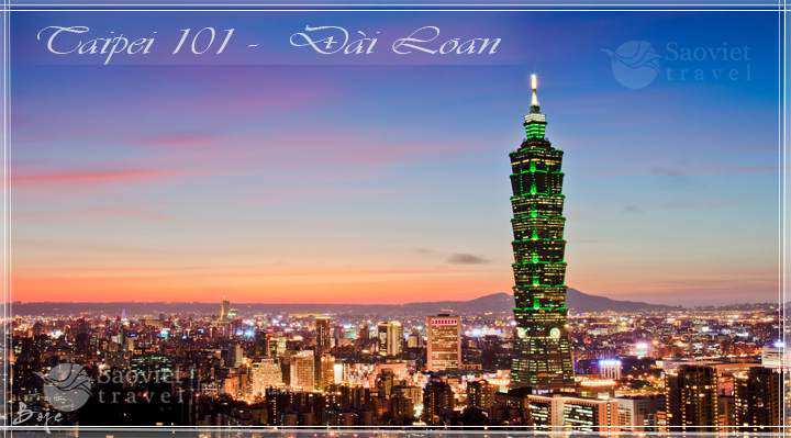 Du lịch Đài Loan: Đài Bắc - Đài Trung - Gia Nghĩa - A Lý Sơn