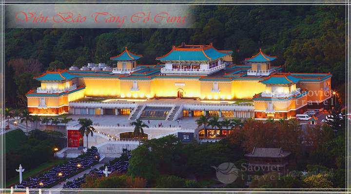 Du lịch Đài Loan Viện bảo tàng cố cung- Công ty du lịch Saoviettravel