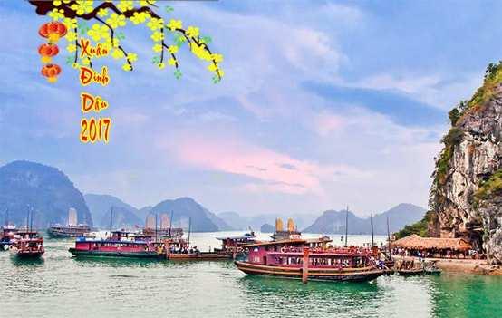 Du Lịch Hạ Long dịp tết âm lịch 2017 từ Hà Nội