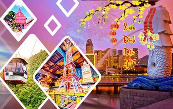 Du lịch Singapore Malaysia Indonesia tết 2017 Giá tốt nhất – 3 sao