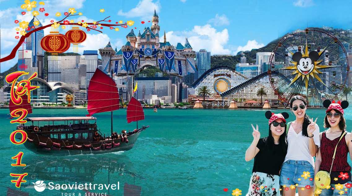 Du lịch Hồng Kông Disneyland tết âm lịch 2017 giá tốt