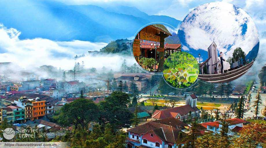 Du lịch Sapa 2 ngày 1 đêm – Cát Cát – Hàm Rồng giá tốt khởi hành từ Hà Nội