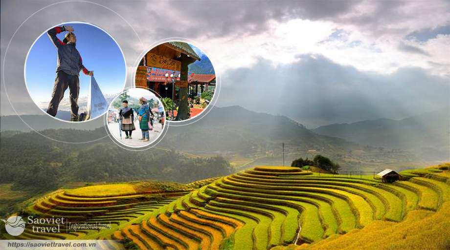Du lịch Sapa – Chinh phục Fansipan 3 ngày 2 đêm khởi hành từ Hà Nội