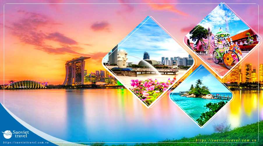Du lịch hè 2020 – Singapore – Indonesia – Malaysia 6 ngày giá tốt từ Hà Nội