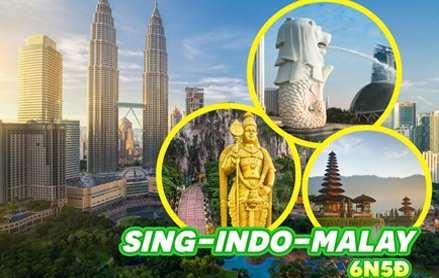 Du lịch 2019 – Singapore – Indonesia – Malaysia 6 ngày giá tốt từ Hà Nội
