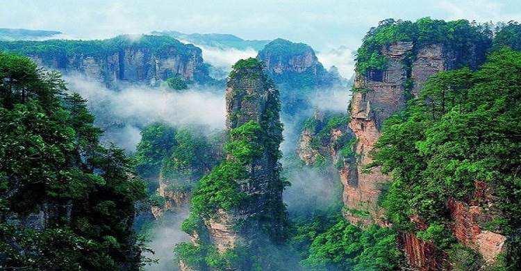 Du lịch Trung Quốc – Trương Gia Giới – Phượng Hoàng Cổ Trấn – Hoàn toàn mới giá tốt
