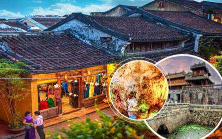 Tour Đà Nẵng – Bà Nà – Huế – Động Phong Nha 4 ngày dịp hè 2020 giá tốt từ Sài Gòn