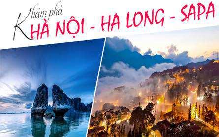 Du Lịch Miền Bắc – Hà Nội – Hạ Long – Sapa – Hàm Rồng – Chinh Phục Fansipan giá tốt từ Sài Gòn