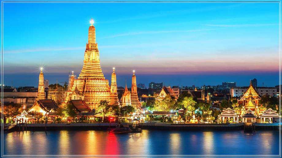 Du lịch Thái Lan Dạo Thuyền trên dòng sông Chaopraya