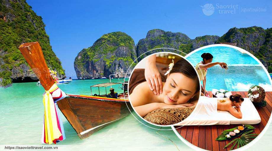 Tour du lịch Thái Lan 5 ngày 4 đêm – Tặng Massage Thái cổ truyền – Buffet 86 tầng – Đặc sắc