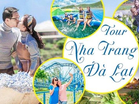 Du Lịch Nha Trang – Đà Lạt 4 ngày 3 đêm khởi hành từ TP.HCM giá tốt