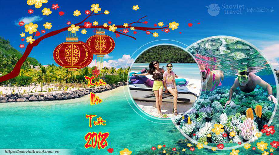Du Lịch Phú Quốc 3 Ngày Tết  Mậu Tuất  2018  Giá Tốt Từ Sài Gòn