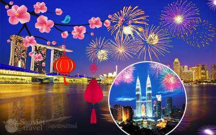 Du lịch Singapore Malaysia dịp tết Mậu Tuất 2018 giá tốt từ Sài Gòn