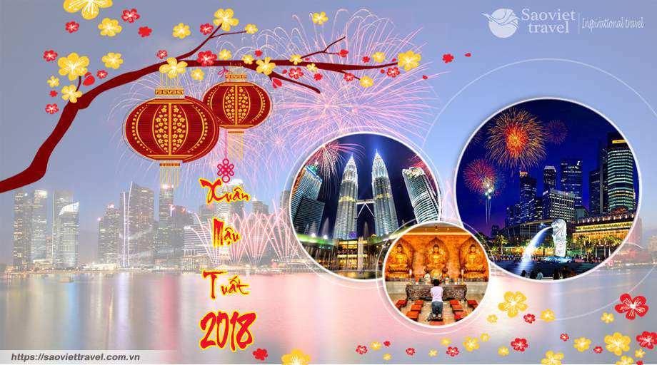 Du lịch Singapore – Malaysia – Indonesia tết nguyên đán 2018 giá tốt