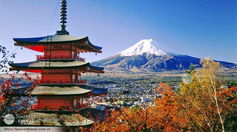 Du lịch Nhật Bản 4 ngày 3 đêm giá tốt từ Tp.HCM mùa thu 2017