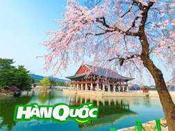 Du lịch Hàn Quốc 4 ngày 4 đêm giá tốt từ Tp.HCM – Khách sạn 5 sao