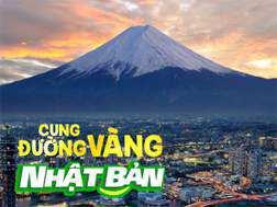Du lịch Nhật Bản 4 ngày 3 đêm khởi hành từ Sài Gòn giá tốt 2018