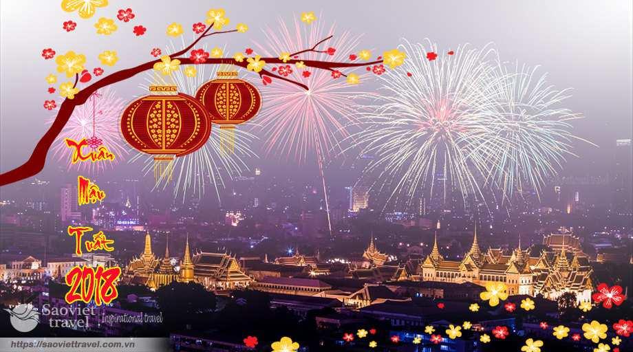 Du lịch Thái Lan tết nguyên đán 2018 giá tốt khởi hành từ Sài Gòn