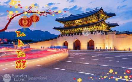 Du lịch Hàn Quốc – Đảo Nami – Trượt Tuyết Elysian – Công Viên Everland