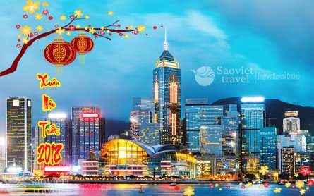 Du lịch Hồng Kông – Công viên Disneyland 4 ngày tết âm lịch 2018 khởi hành từ Sài Gòn