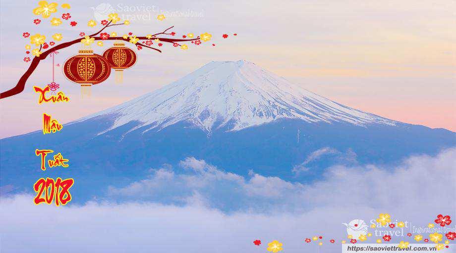 Du Lịch Nhật Bản Tết Âm Lịch 4 Ngày Giá Tốt 2018 từ Hà Nội