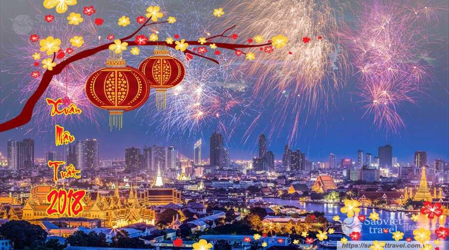 Du lịch Thái Lan 5 ngày tết âm lịch 2018 khởi hành từ Sài Gòn – Tour Cao Cấp