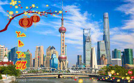 Du Lịch Trung Quốc 4 ngày 3 đêm Dịp Tết Âm Lịch 2018 từ Tp.HCM
