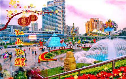 Du lịch Trung Quốc 7 Ngày Tết Âm Lịch 2018 giá tốt từ Sài Gòn