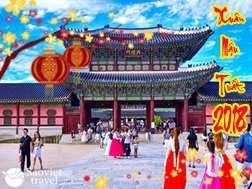 Du lịch Hàn Quốc tết nguyên đán 2018 giá tốt từ Sài Gòn