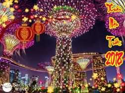 Du lịch Singapore 4 ngày Dịp Tết Nguyên Đán Mậu Tuất 2018
