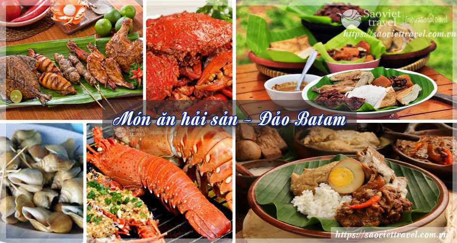 Thưởng thức hải sản - Du lịch Singapore malaysia-indonesia