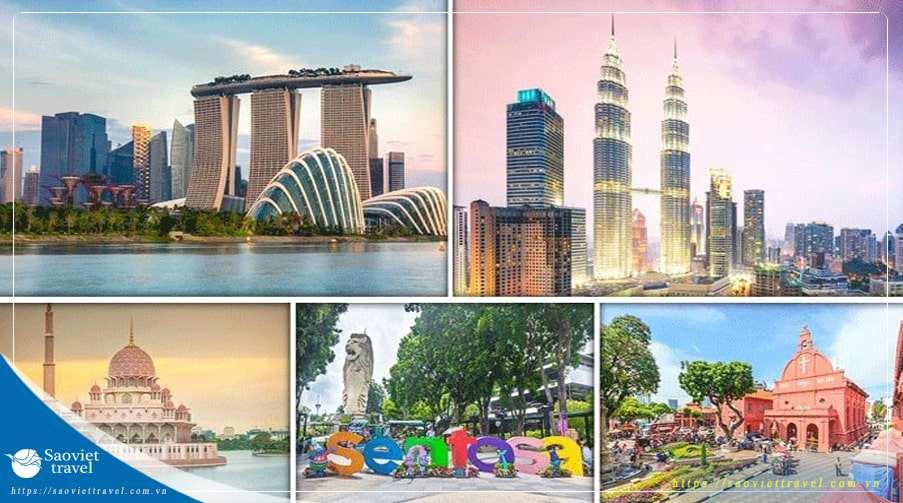 Du lịch Singapore Indonesia Malaysia mùa thu 2019 giá tốt từ Sài Gòn – TOUR CAO CẤP 4 SAO