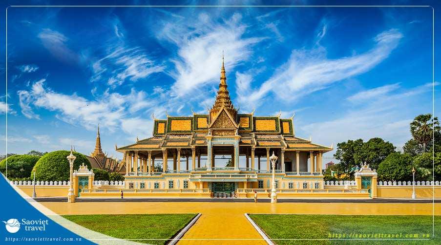 Du lịch Campuchia 4 ngày Siêm Riệp – Phnompenh giá tốt nhất từ Hà Nội