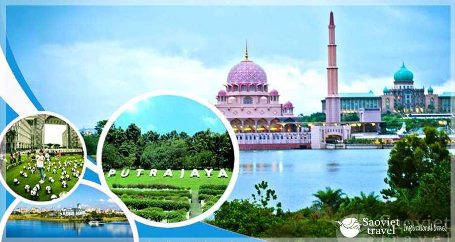 Du lịch Malaysia - thành phố thông minh PutraJaya