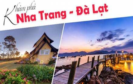 Du lịch Nha Trang – Đà Lạt 5 ngày 4 đêm giá tốt 2019