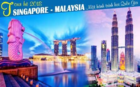 Du lịch Singapore – Malaysia dịp hè 2018 từ Sài Gòn giá tốt