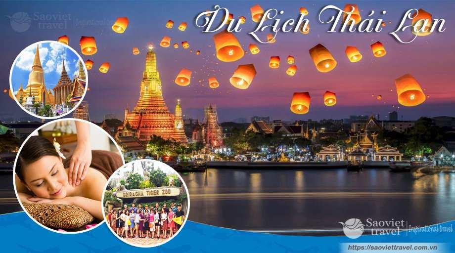 Du Lịch Thái Lan Bangkok – Pattaya 5 ngày Alcazar Show – Tiger Zoo giá tốt 2018 từ Sài Gòn