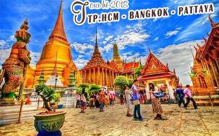 Du lịch Thái Lan – Bangkok – Pattaya 4 ngày giá tốt nhất 2019 từ Sài Gòn